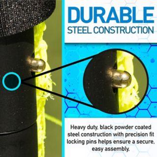 Franklin Sports 5-ft x 10-ft Black Folding Soccer Goal
