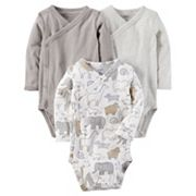 Baby Carter's 3 pkSide-Snap Bodysuits