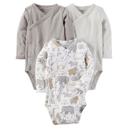 Baby Carter's 3-pk. Side-Snap Bodysuits
