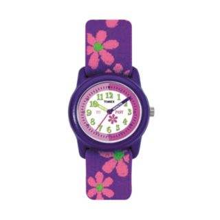 Timex Kids' Time Teacher Flowers Watch - T890229