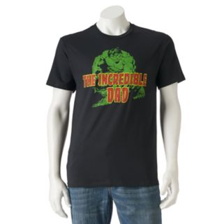 "Men's Marvel Comics Hulk ""Incredible Dad"" Tee"