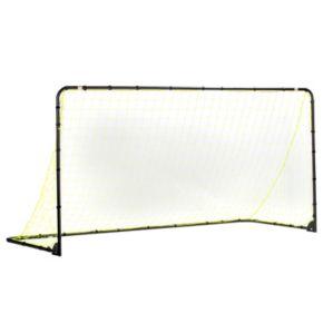 Franklin Sports 6-ft x 12-ft Black Folding Soccer Goal