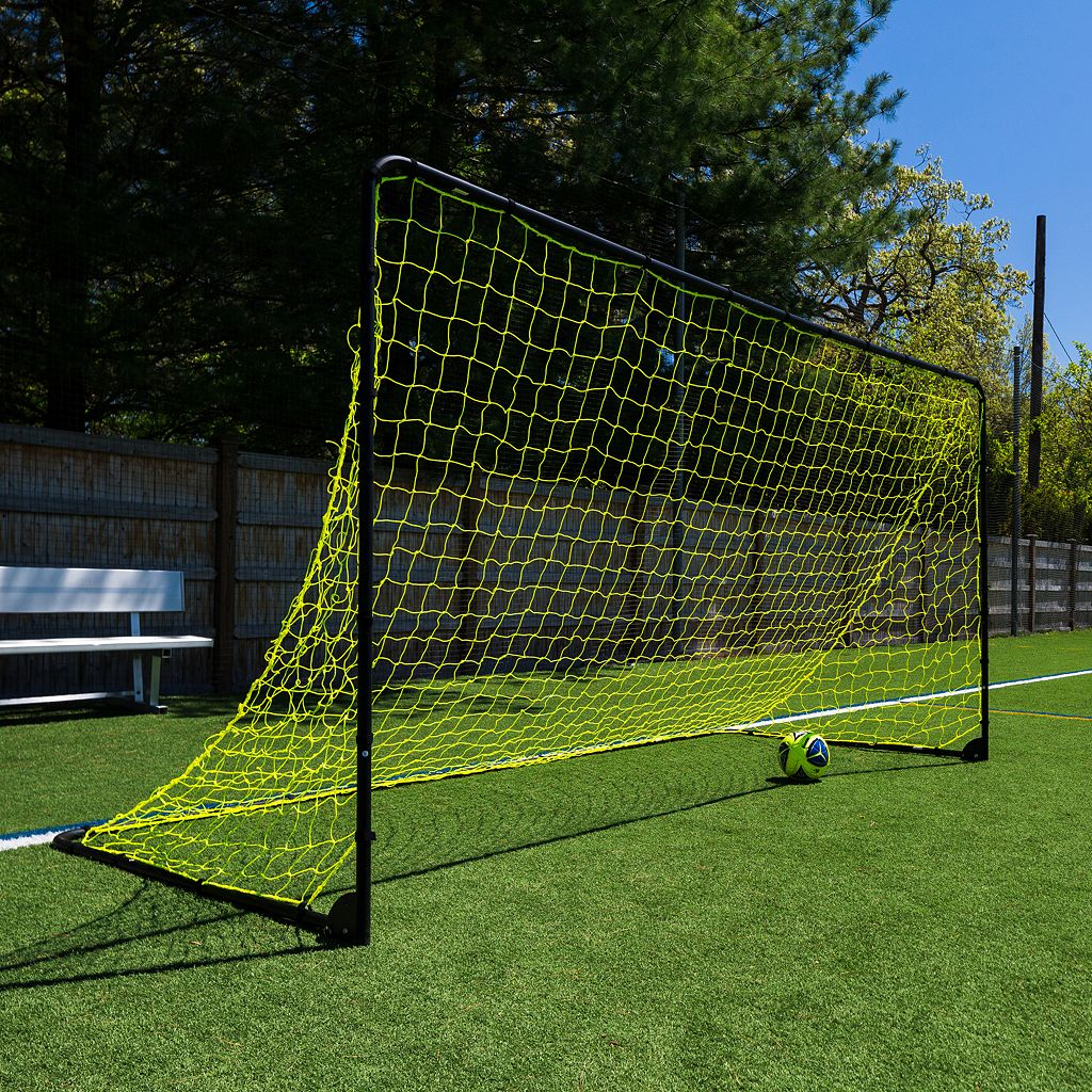 Franklin Sports 6-ft x 12-ft Black Folding Soccer Goal
