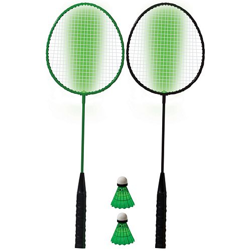 Franklin Sports 2-Player Badminton LED Racket Set