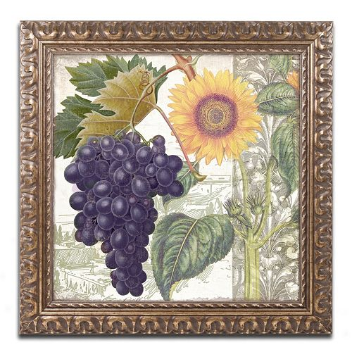 Trademark Fine Art Dolcetto I Ornate Framed Wall Art