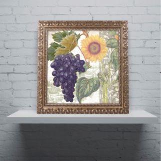 Trademark Fine Art Dolcetto I Ornate Framed Wall Art