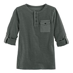 Boys 4-7x SONOMA Goods for Life™ Slubbed Henley