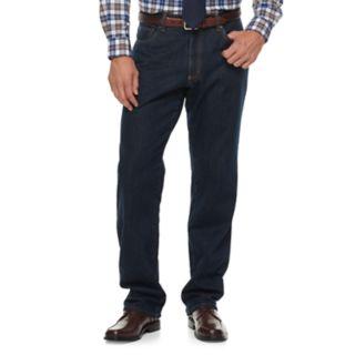 Big & Tall Croft & Barrow® Classic-Fit Stretch Flannel-Lined Jeans