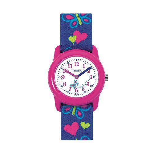 Timex Kids' Heart & Butterfly Watch - T890019J