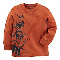 Boys 4-8 Carter's Stacked Dinosaurs Long Sleeve Tee