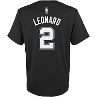 Boys 8-20 adidas San Antonio Spurs Kawhi Leonard Name & Number Tee