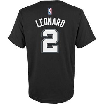 Boys 8-20 adidas San Antonio Spurs Kawhi Leonard Name & Number Tee