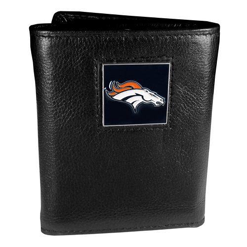 Men's Denver Broncos Trifold Wallet