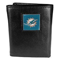 Men's Miami Dolphins Trifold Wallet
