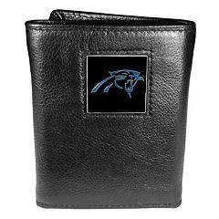 Men's Carolina Panthers Trifold Wallet