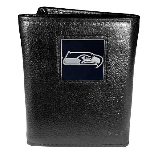 Men's Seattle Seahawks Trifold Wallet