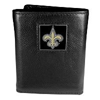 Men's New Orleans Saints Trifold Wallet