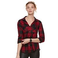 Women's Rock & Republic® Drapey Plaid Shirt