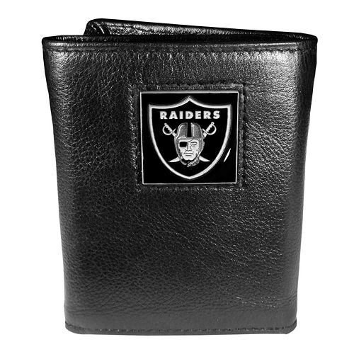 Men's Oakland Raiders Trifold Wallet