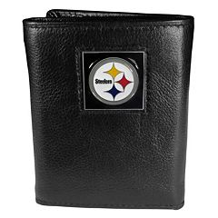 Men's Pittsburgh Steelers Trifold Wallet