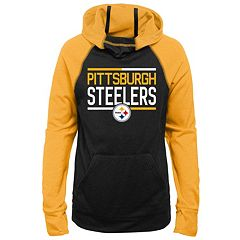 Girls 7-16 Pittsburgh Steelers Format Hoodie