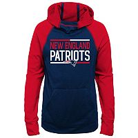 Girls 7-16 New England Patriots Format Hoodie