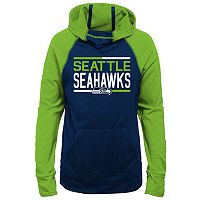 Girls 7-16 Seattle Seahawks Format Hoodie