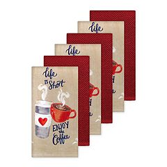 The Big One® 6-pc. Coffee Kitchen Towel Set