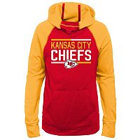 Girls 7-16 Kansas City Chiefs Format Hoodie