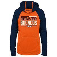 Girls 7-16 Denver Broncos Format Hoodie