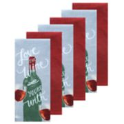 The Big One® 6-pc. Wine Kitchen Towel Set