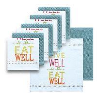 The Big One® 10 pc Eat Well Dish Cloth Set