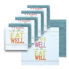 The Big One® 10-pc. Eat Well Dish Cloth Set
