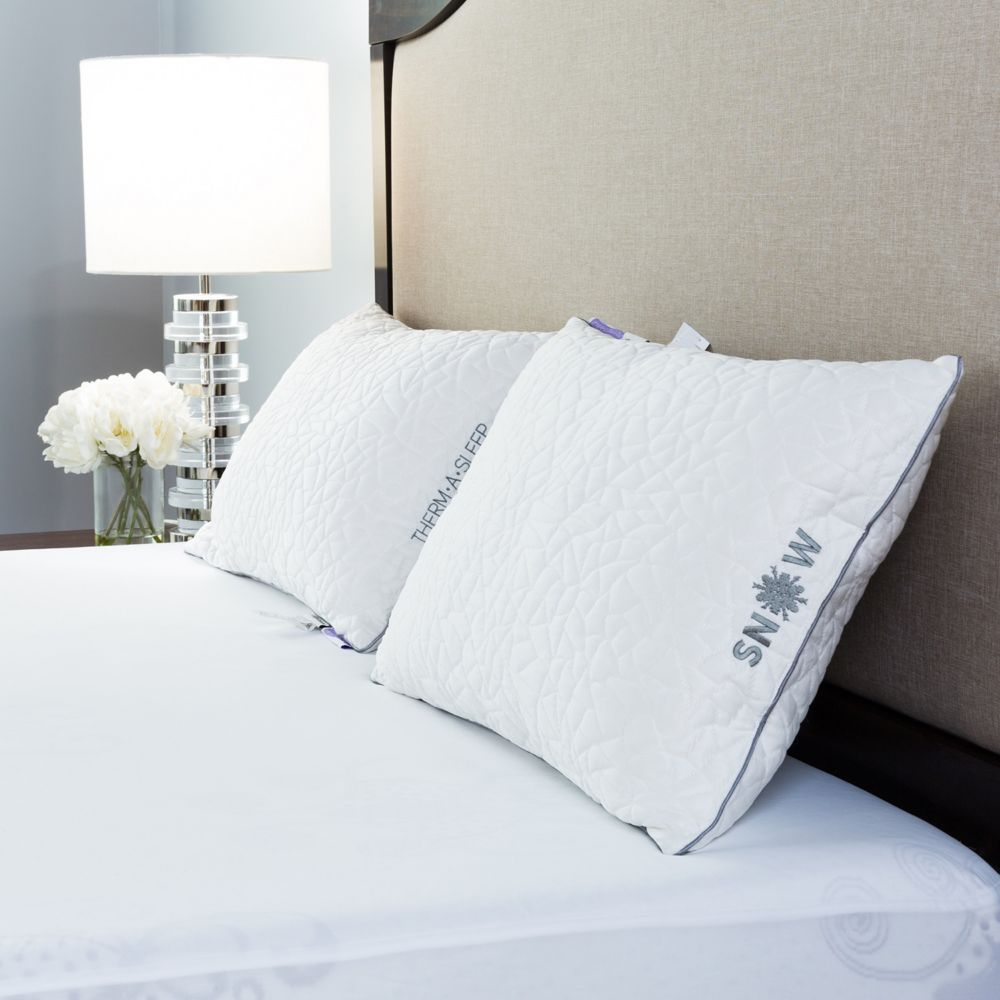 a-bed therm-a-sleep back sleeper nordic chill fiber pillow