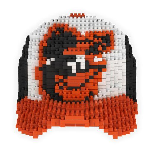 Forever Collectibles Baltimore Orioles BRXLZ 3D Baseball Cap Puzzle Set
