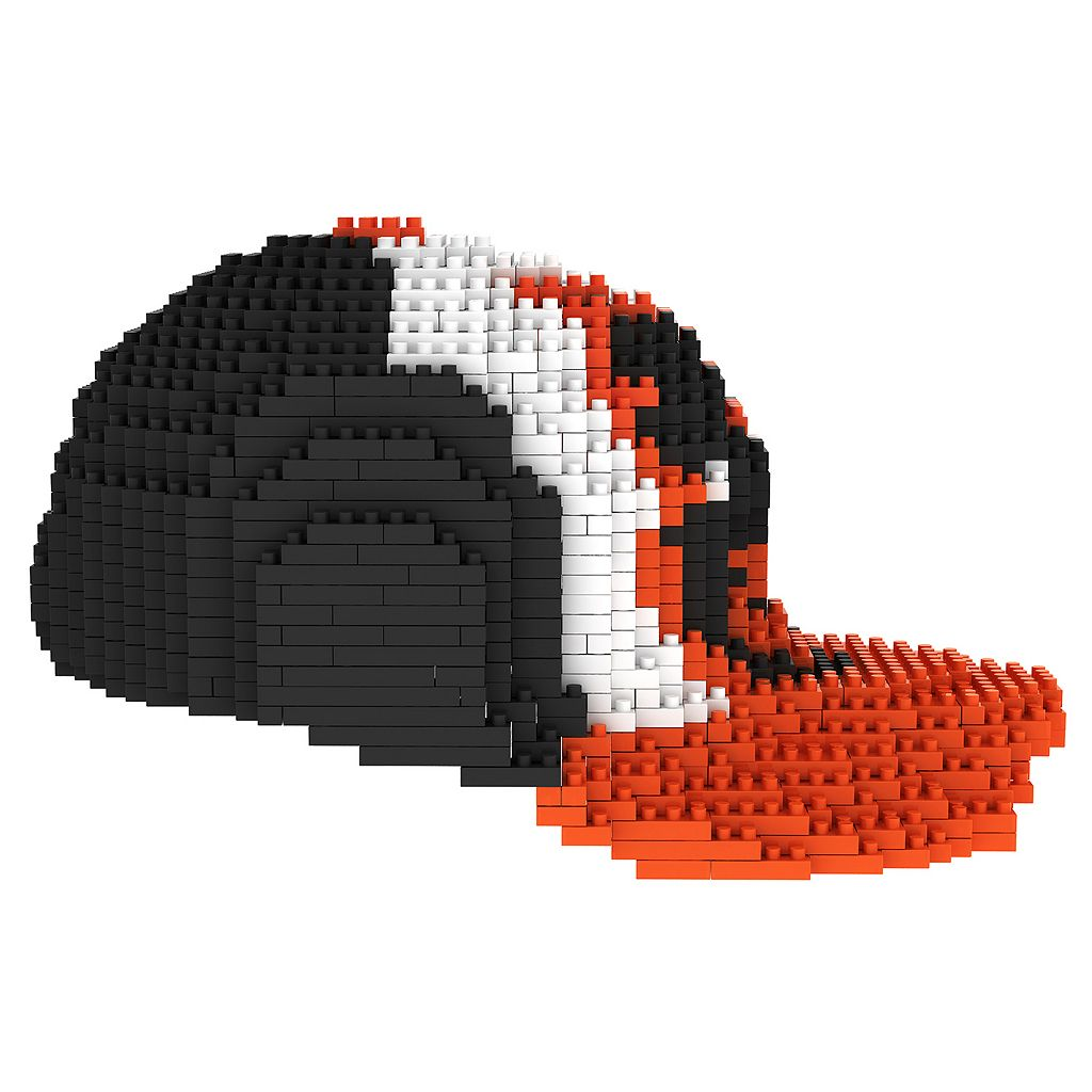 Forever Collectibles Baltimore Orioles BRXLZ 3D Baseball Cap Puzzle Set