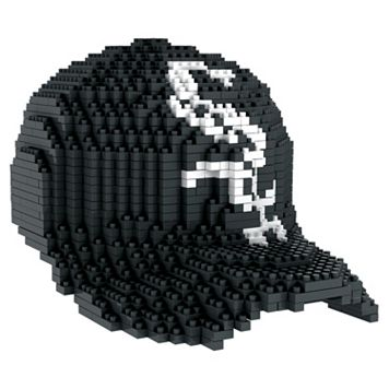 Forever Collectibles Chicago White Sox BRXLZ 3D Baseball Cap Puzzle Set