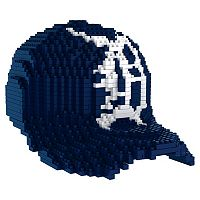 Forever Collectibles Detroit Tigers BRXLZ 3D Baseball Cap Puzzle Set