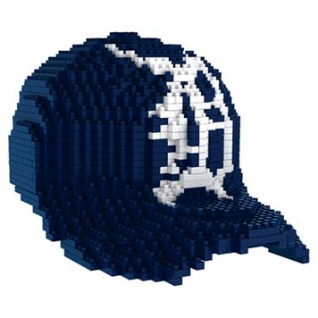 Forever Collectibles Detroit Tigers BRXLZ 3D Baseball Cap Puzzle Set