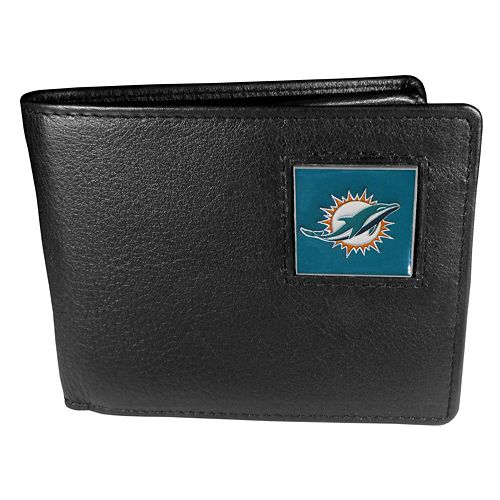 Men's Miami Dolphins Bifold Wallet