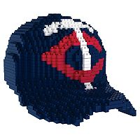 Forever Collectibles Minnesota Twins BRXLZ 3D Baseball Cap Puzzle Set