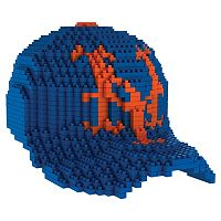 Forever Collectibles New York Mets BRXLZ 3D Baseball Cap Puzzle Set