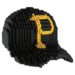 Forever Collectibles Pittsburgh Pirates BRXLZ 3D Baseball Cap Puzzle Set