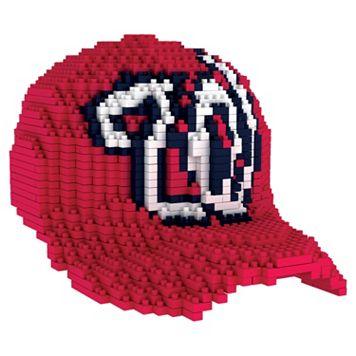 Forever Collectibles Washington Nationals BRXLZ 3D Baseball Cap Puzzle Set
