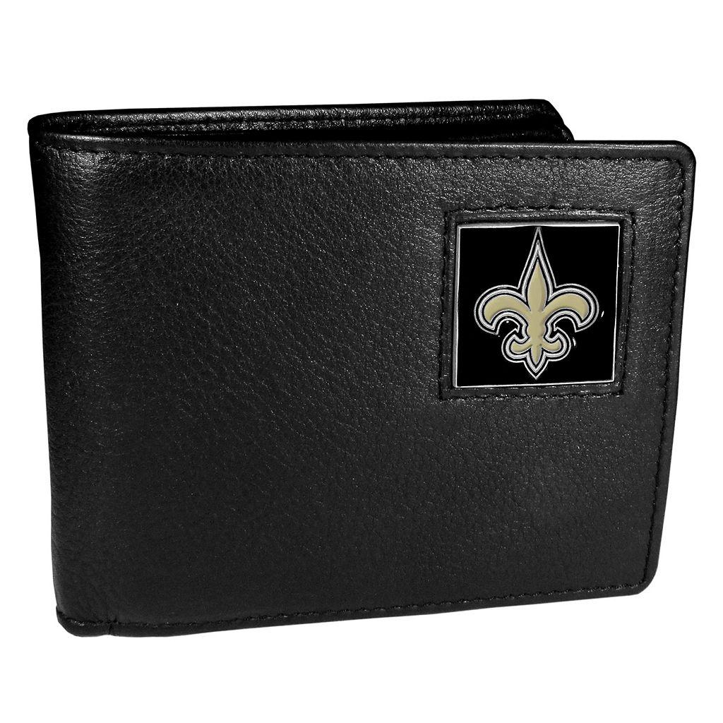 Men's New Orleans Saints Bifold Wallet