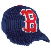 Forever Collectibles Boston Red Sox BRXLZ 3D Baseball Cap Puzzle Set