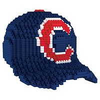 Forever Collectibles Chicago Cubs BRXLZ 3D Baseball Cap Puzzle Set