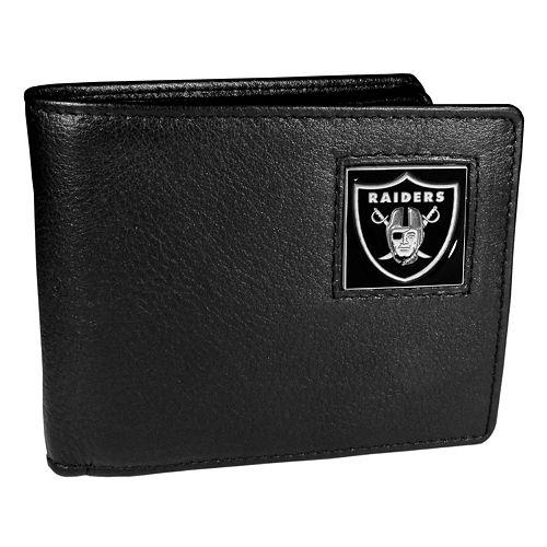 Men's Oakland Raiders Bifold Wallet
