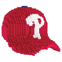 Forever Collectibles Philadelphia Phillies BRXLZ 3D Baseball Cap Puzzle Set