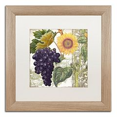 Trademark Fine Art Dolcetto I Washed Finish Framed Wall Art